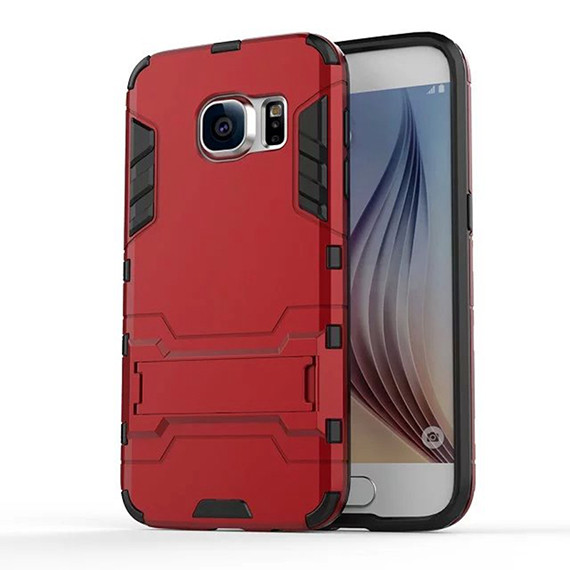 Ударопрочный чехол-подставка Transformer для Samsung G935F Galaxy S7 Edge с мощной защитой корпуса