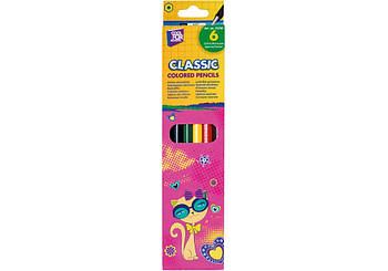 "Цветные карандаши Cool For School ""Kitty"", 6 цветов"