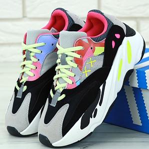 Женские кроссовки Adidas Yeezy Wave Runner Boost 700 x Custom KAW (Адидас Изи Буст) 41