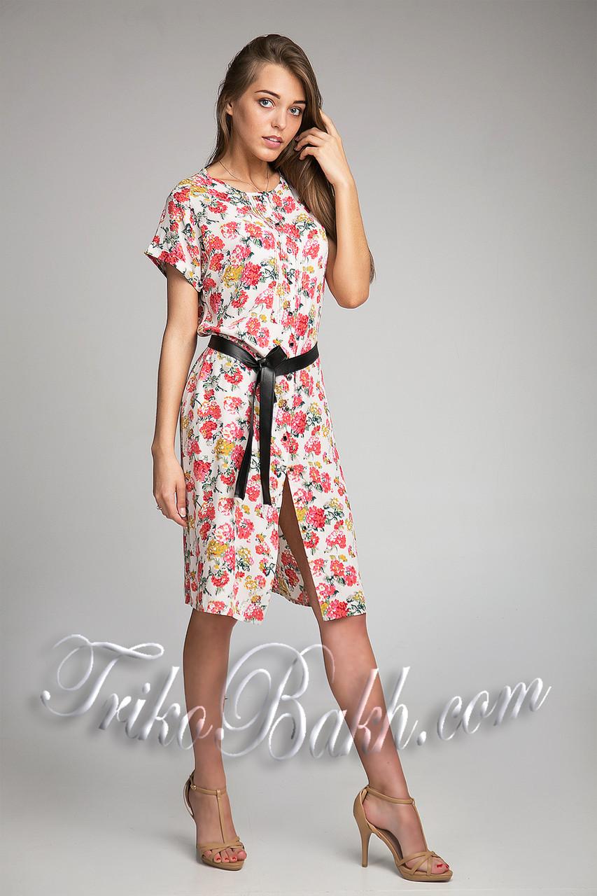 Платье прямой силуэт летнее