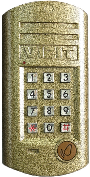Блок вызова Vizit БВД-312R