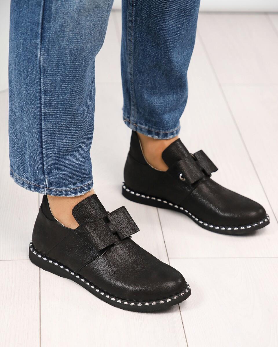 Женские Ботинки открытые с бантом, Натуральная кожа сатин