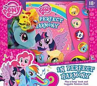 Музыкальная книжка + Пони My Little Pony - In Perfect Harmony Play-a-Song book and Rainbow Dash Plush