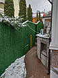 Зеленый забор из искусственной травы в рулонах (Турция)., фото 9
