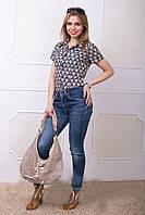 Летняя женская блуза - рубашка