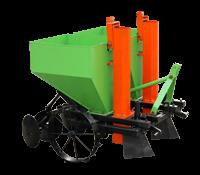 Картофелесажалка (сажалка) КС-2А тракторная, двухрядная, навесная транспортерная, бункер на 140 л