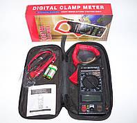 Токовые клещи DT-266 Digital Clamp Meter, мультиметр, тестер