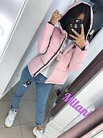 Куртка женская демисезонная с капюшоном (норма и батал)