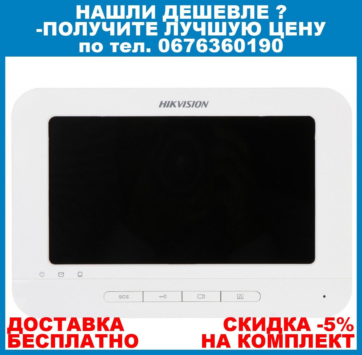 IP видеодомофон Hikvision DS-KH6210-L 7