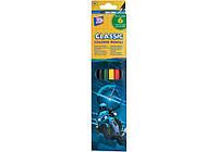 """Цветные карандаши Cool For School """"Moto"""", 6 цветов"""