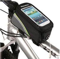 Велосумка Roswheel на раму ч/салат. ( код:  )