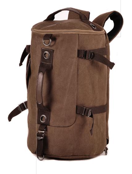Рюкзак-сумка Youmian 45*28*28 коричневый ( код: R429 )