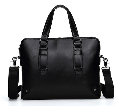 Сумка-портфель мужская черная ( код: С503 )