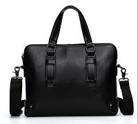 Сумка-портфель мужская черная ( код: С503 ), фото 1