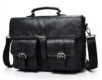 Сумка-портфель з кишенями чорна ( код: С561 ), фото 1