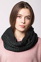 Мягкий трикотажный шарф-хомут LANE в полоску