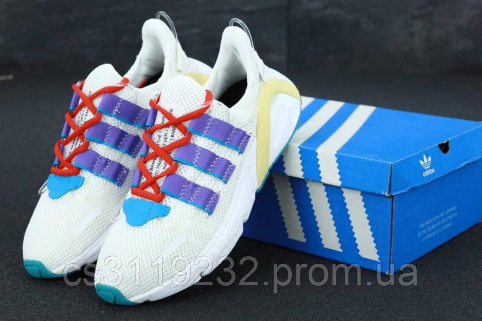 Мужские кроссовки Adidas Lexicon (белые)