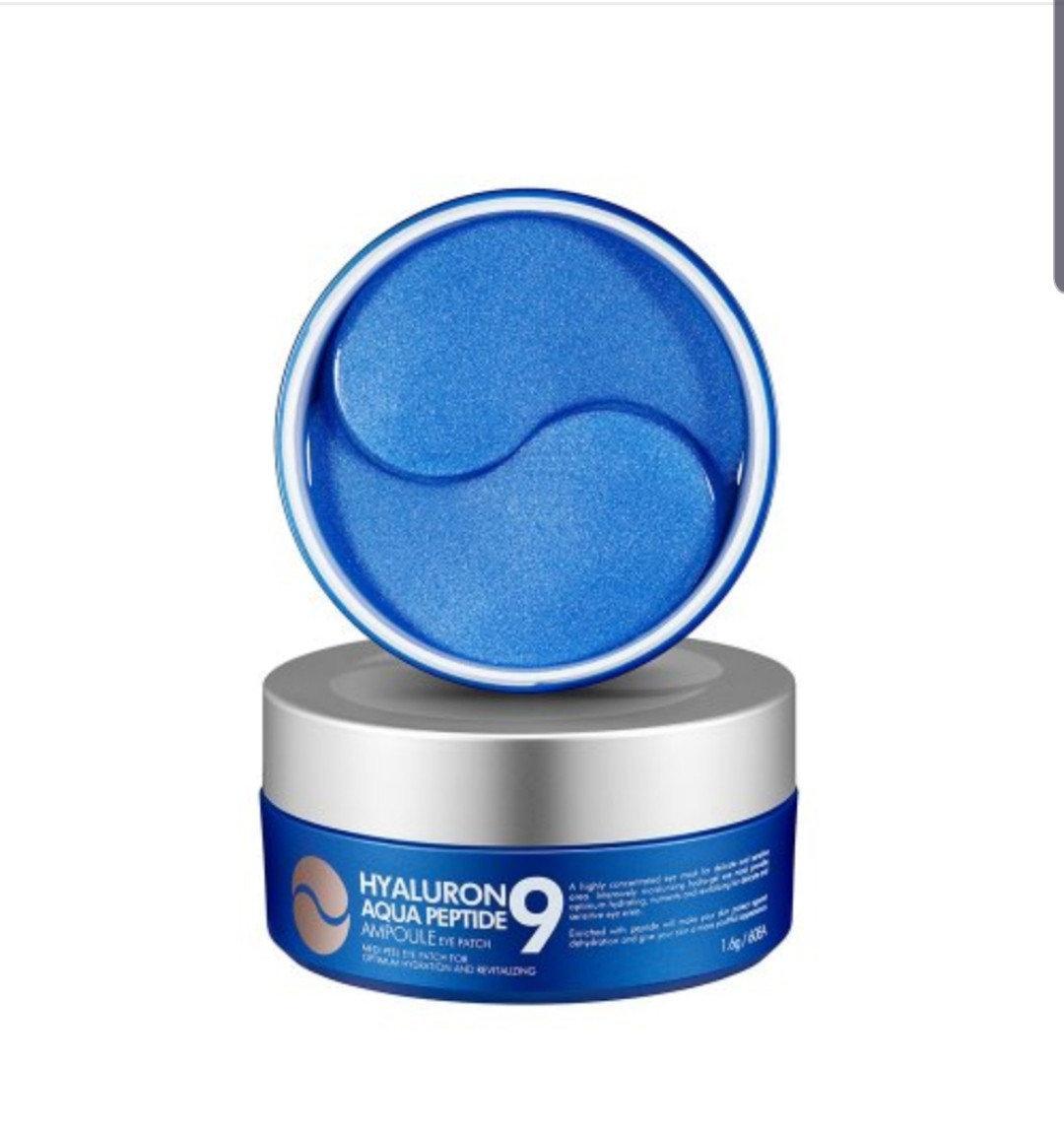 Патчи MEDI-PEEL увлажняющие с гиалуроновой кислотой Hyaluron Aqua Peptide 9 Eye Patch 60 шт