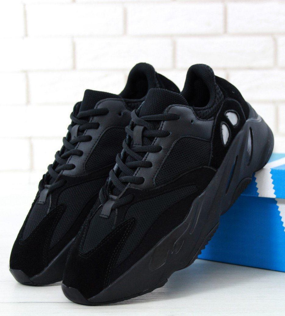 Мужские кроссовки Adidas Yeezy Boost 700 Wave Runner Black