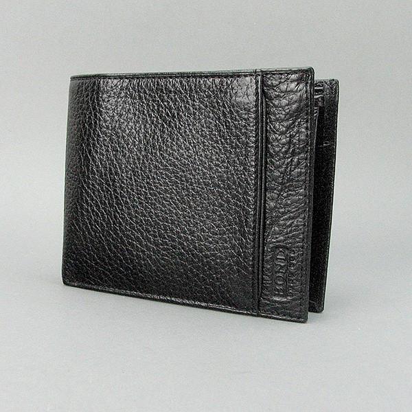 BOND NON / Кошелек мужской кожаный черный Bond 581-281 Турция