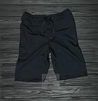 Мужские черные летние шорты / Спортивные костюмы на лето