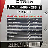 Сварочный полуавтомат инверторного типа Сталь MULTI-MIG-285 PROFI, фото 9