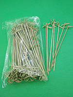Шпажки бамбуковые с узелком 18см,100 шт (1 пач)