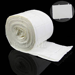 Безворсовые салфетки для маникюра, рулон 100 шт