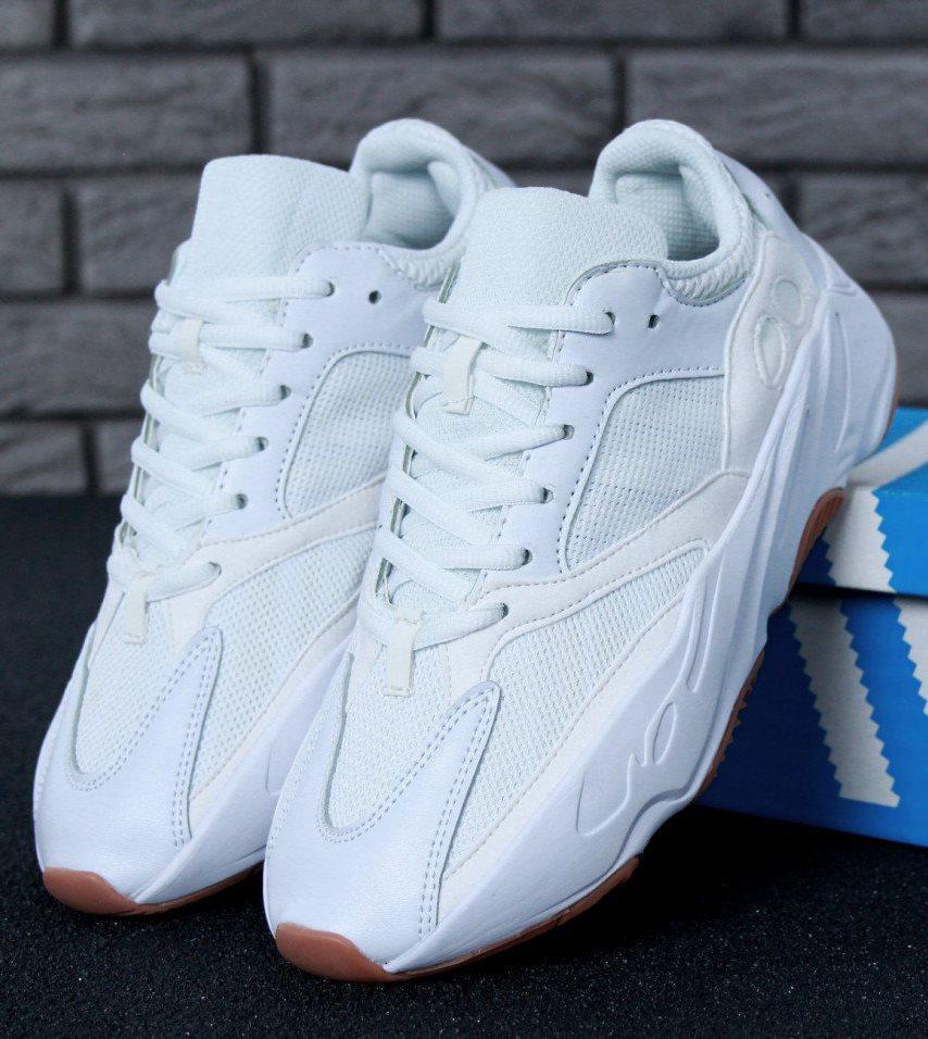 Женские кроссовки Adidas Yeezy Boost 700 Wave Runner White