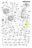 Провод зажигания 1-го цил.чери Тигго 1, Chery T11 1 2.0-2.4i Mitsubisi, smw250283, фото 3
