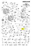 Дріт запалювання 3-го цил.чері Тігго 1, Chery T11 1 2.0-2.4 i Mitsubisi, smw250285, фото 3