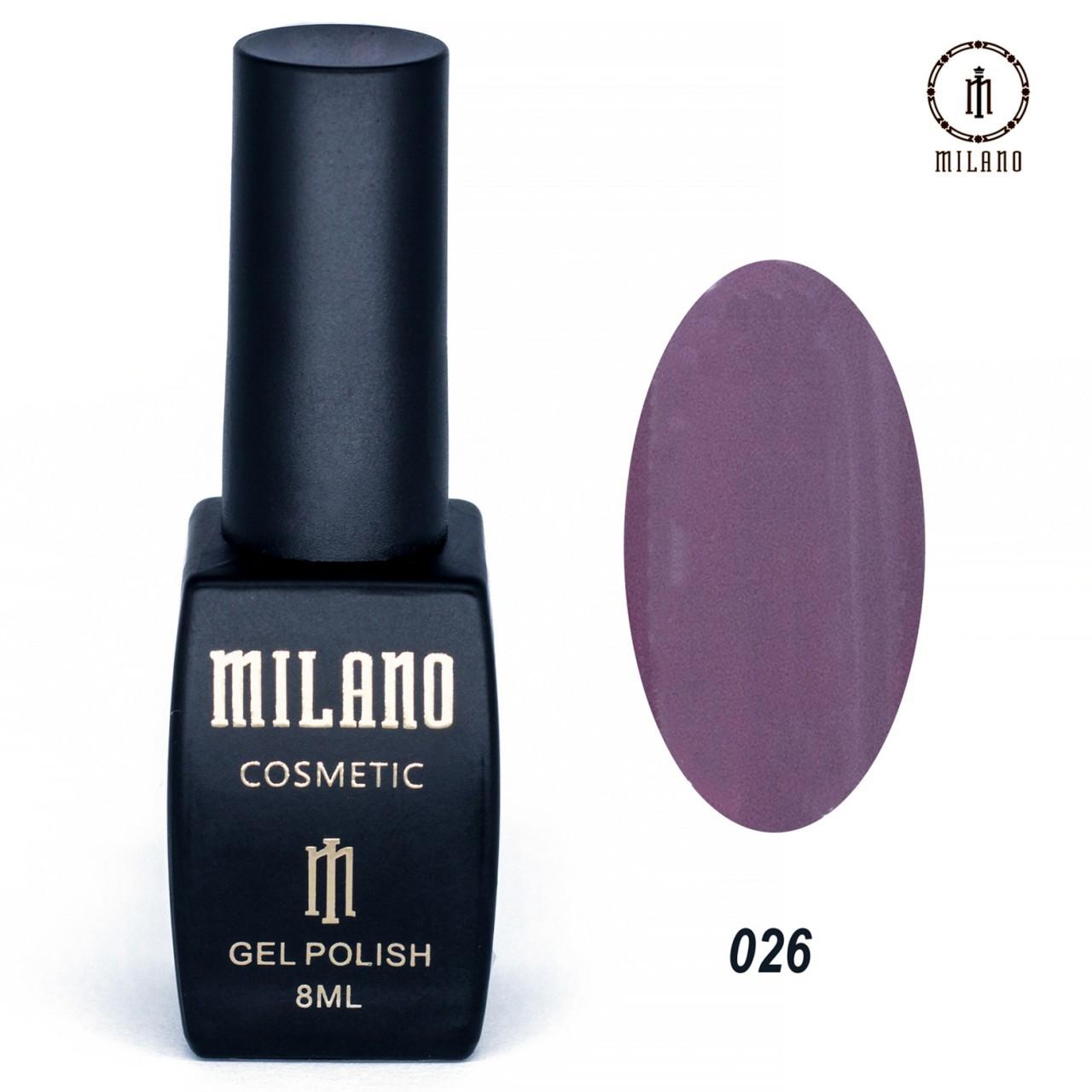 "Гель лак ""Milano"" 026"