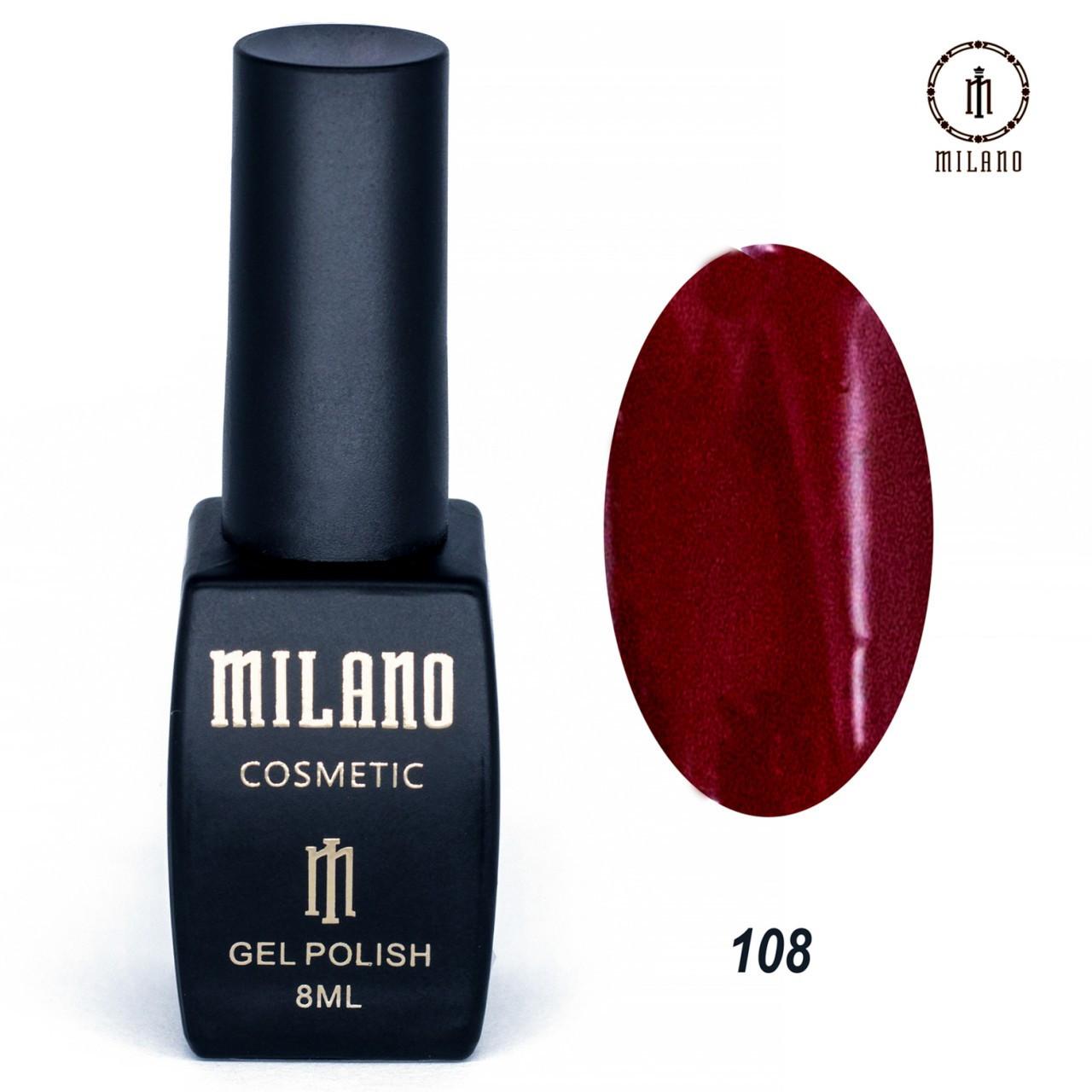 "Гель лак ""Milano"" 108"