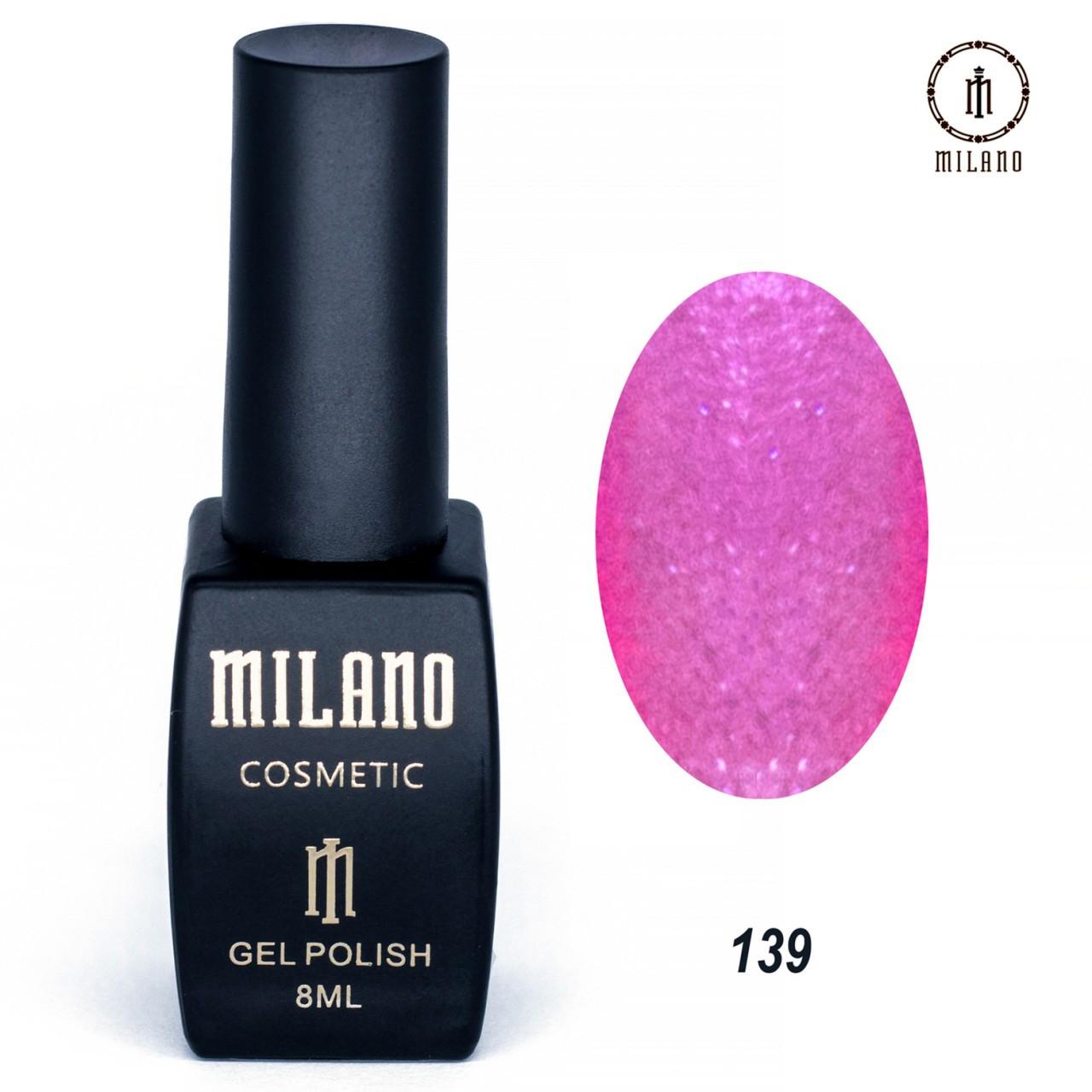 "Гель лак ""Milano"" 139"