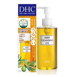 DHC Гидрофильное масло Deep Cleansing Oil для умывания и снятия макияжа, 150 мл