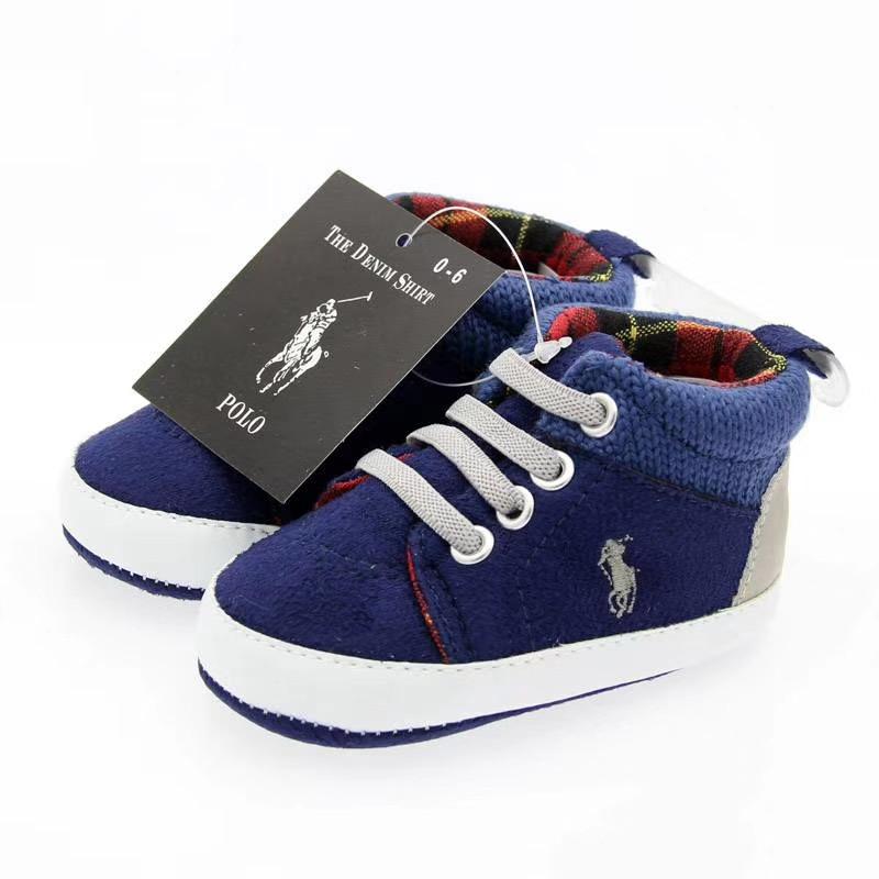 Текстильные пинетки кроссовки Ralph Lauren