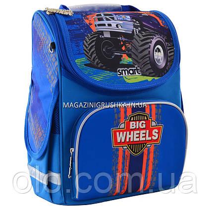 """Рюкзак школьный каркасный Smart PG-11 """"Big Wheels"""""""