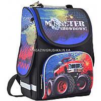 Рюкзак школьный каркасный Smart PG-11 Monster showdown, фото 1