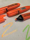 Цветной текстовыделителей Highlighter Оранжевый, фото 3