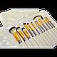 Набор кистей для макияжа 12 шт. из смешанного ворса, фото 2