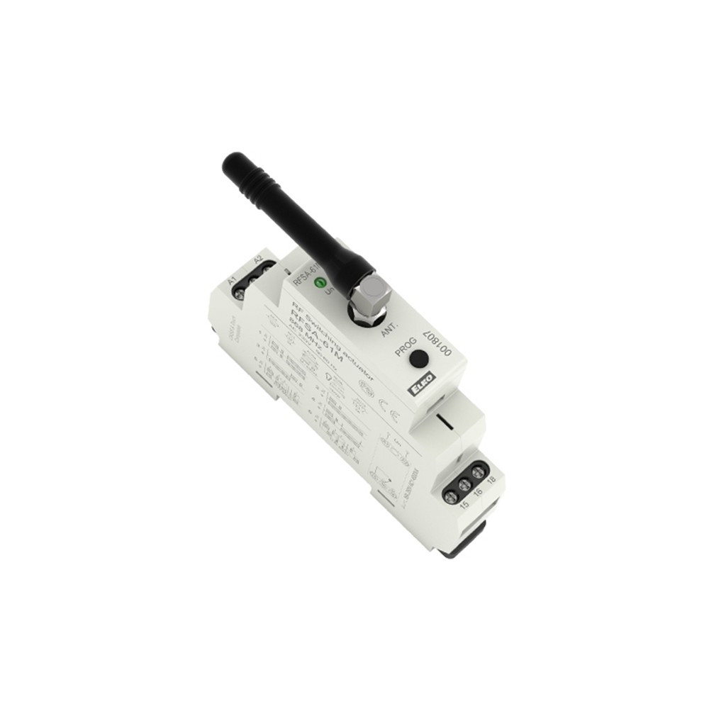 Одноканальное беспроводное реле iNELS RFSA-61M/230 V