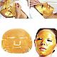 Гидрогелевая маска для лица Bioaqua 24 carat gold с 24к золотом 60 г, фото 3