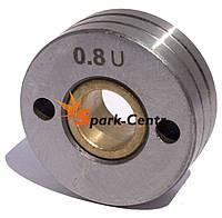 Подающий ролик 30х10х12 (U-образный) для алюминиевой проволоки 0.8/1.0 мм