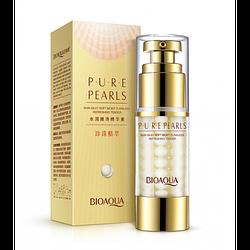 Крем-гель для глаз BIOAQUA Pure Pearls с жемчужной пудрой 25 мл