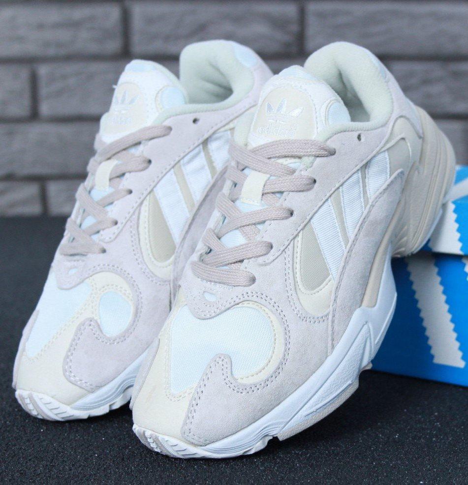 Женские кроссовки Adidas Yung 1 Cloud Grey