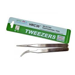 Профессиональный пинцет для наращивания ресниц TS - 12