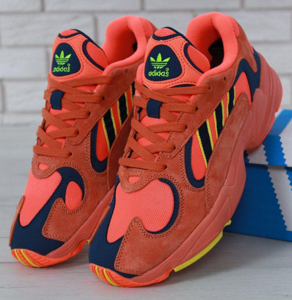 Мужские кроссовки Adidas Yung 1 Orange Navy