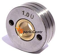 Подающий ролик 30х10х12 (U-образный) для алюминиевой проволоки 1.0/1.2 мм