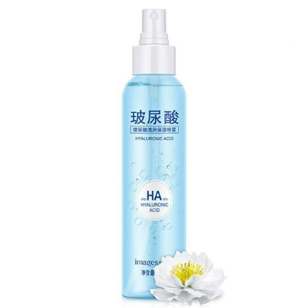 Тонер-спрей для обличчя IMAGES HA Hyaluronic Acid з гіалуронової кислотою і екстрактом снігового лотоса 150 мл