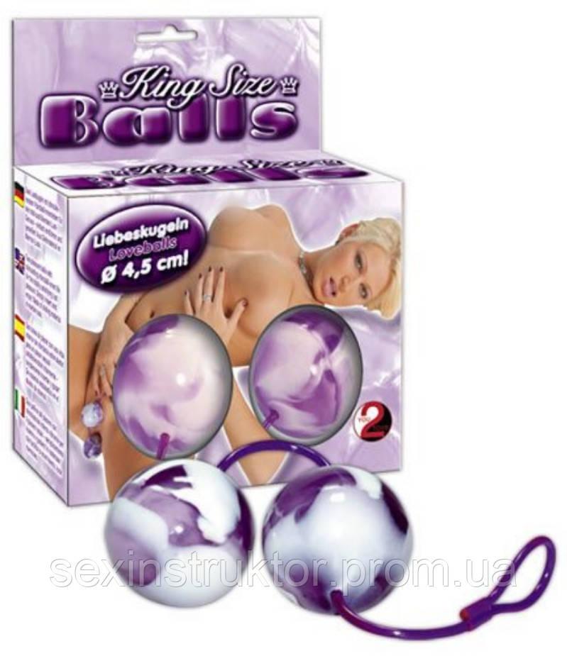 Вагинальные шарики - King-Size Balls